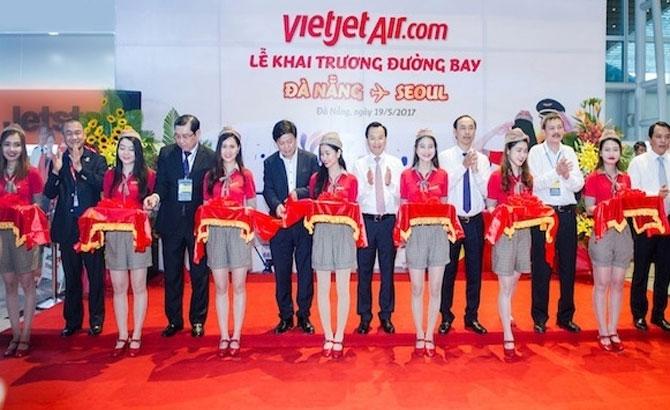Vietjet opens Da Nang – Seoul route