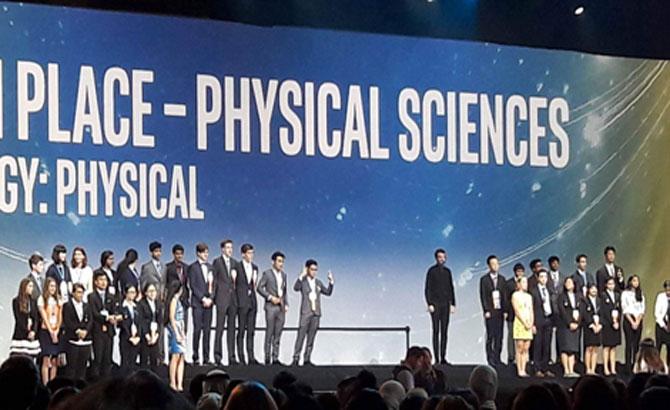 8 học sinh Việt Nam giành giải thưởng tại Mỹ