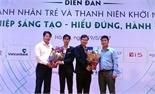 Hai doanh nhân trẻ Bắc Giang được tuyên dương khởi nghiệp xuất sắc