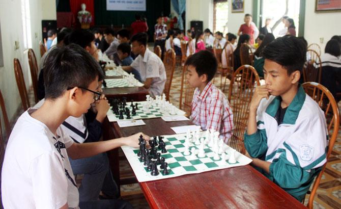 TP Bắc Giang: Hơn 60 VĐV dự giải vô địch cờ vua