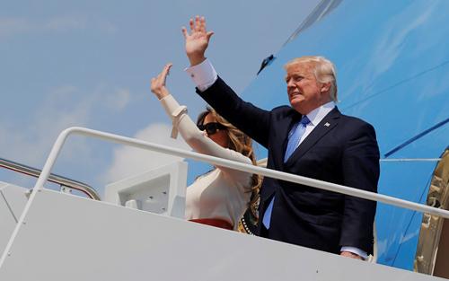 10 nghìn người bảo vệ chuyến thăm của ông Trump tại Israel