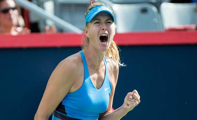 """""""Búp bê Nga"""" Maria Sharapova được đặc cách dự Rogers Cup 2017"""