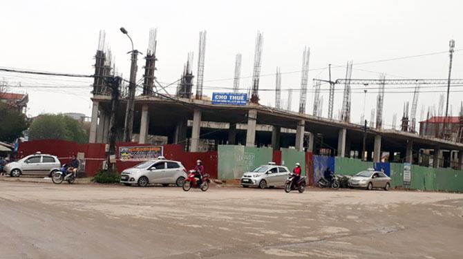 Vi phạm về xây dựng, Công ty Bất động sản  Đầu tư thương mại Hiệp Hòa bị xử phạt
