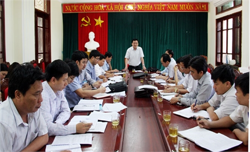 Kiểm tra cải cách hành chính tại Lục Nam