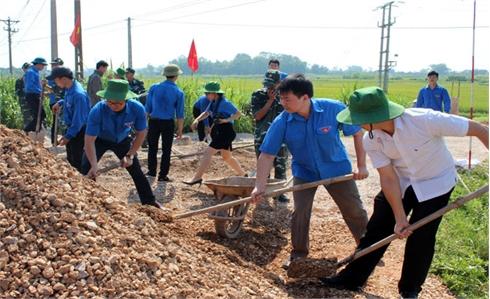 Bắc Giang: Phát động Chiến dịch Thanh niên tình nguyện hè 2017