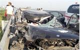 Tai nạn giữa xe con và xe tải trên cao tốc Hà Nội - Hải Phòng làm 3 người tử vong