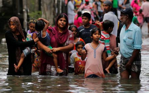 Thảm họa lũ lụt tại Sri Lanka: Số người chết lên tới 146