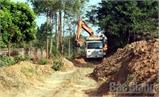 Chủ tịch UBND tỉnh yêu cầu Chủ tịch UBND ba huyện chấn chỉnh việc khai thác đất trái phép
