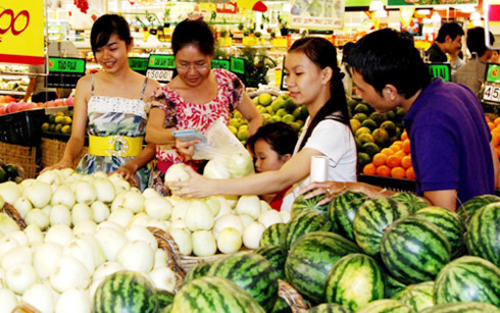 Chỉ số giá tiêu dùng tháng 5 giảm 0,53% so với tháng trước