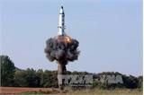 Triều Tiên xác nhận vụ thử tên lửa đạn đạo mới nhất