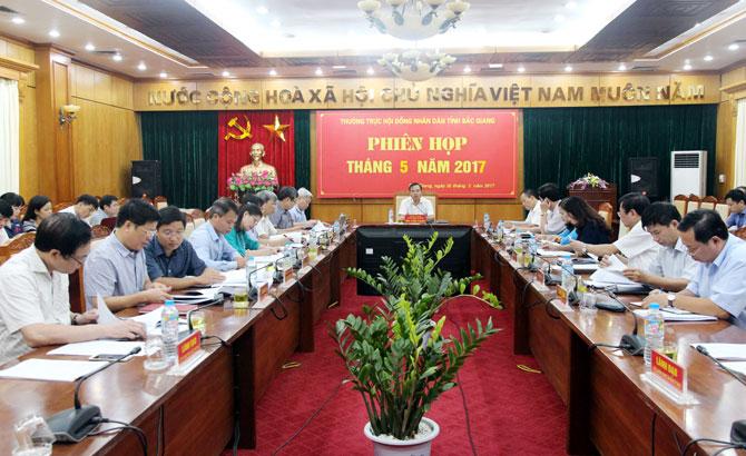 Thường trực HĐND tỉnh họp phiên thường kỳ giám sát việc giải quyết các kiến nghị của cử tri