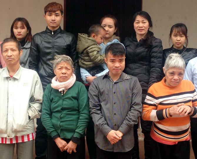 Gia đình,  khó khăn,  Hoàng An,  giúp 90 triệu đồng