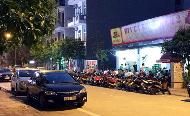 Hàng ăn, chiếm vỉa hè, TP Bắc Giang