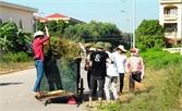 Huyện ủy Lục Ngạn lãnh đạo chiến dịch cao điểm vệ sinh môi trường