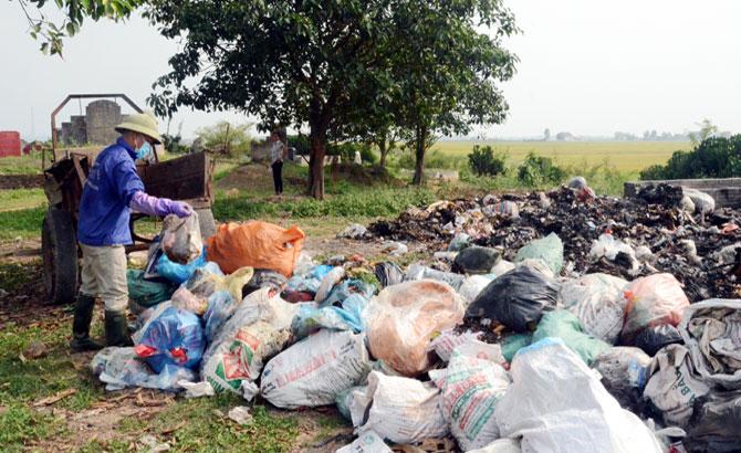 Xã Đồng Việt: Phân loại, xử lý rác tại nguồn, giảm ô nhiễm