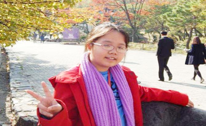 Cô học trò Việt 13 tuổi đoạt giải khoa học ở Mỹ