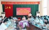 Huyện ủy Lạng Giang: Bàn giải pháp thực hiện nhiệm vụ 6 tháng cuối năm