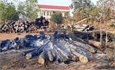 Cháy do đốt rác, thiệt hại khoảng 300 triệu đồng