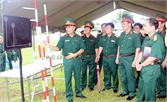 Đại tá Trần Quang Lệ, Lữ đoàn Pháo binh 164 (Quân đoàn 2): Nêu gương trong mọi nhiệm vụ