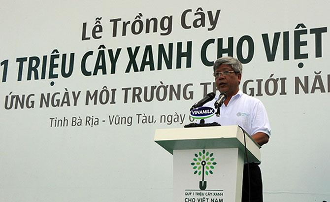 Bộ Tài nguyên và Môi trường: Trồng cây xanh hưởng ứng Ngày Môi trường thế giới 5-6