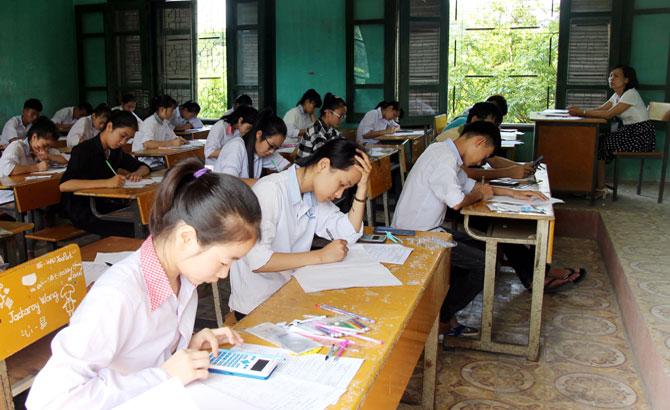 [TS10-2017] Điểm thi vào lớp 10 THPT tại trường THPT Lạng Giang số 2
