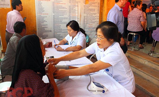 Hướng dẫn lập hồ sơ khám, quản lý sức khỏe toàn dân