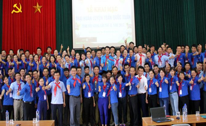 200 cán bộ Đội tham gia Trại Trần Quốc Toản