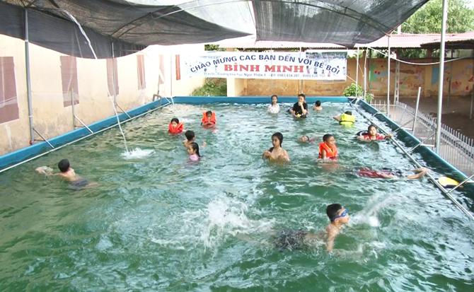 Bể bơi thông minh, hiệu quả, học bơi, vui chơi