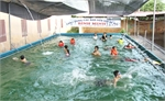 Bể bơi thông minh giúp phòng ngừa đuối nước cho trẻ em