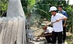 Lò đốt rác gia đình ở xã Quý Sơn (Lục Ngạn): Giải pháp tình thế