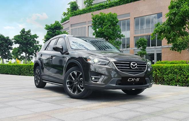 Hơn 20 nghìn người mua xe Mazda CX-5 trong 6 năm tại Việt Nam