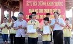 Khen thưởng đột xuất học sinh đoạt giải cuộc thi các CLB Toán tuổi thơ toàn quốc 2017