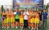 TP Bắc Giang giành cúp vô địch Giải bóng đá nữ CNVC, LĐ lần thứ nhất