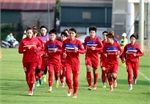 Đội tuyển bóng đá nữ quốc gia tập trung chuẩn bị cho SEA Games 29