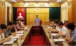 Thẩm tra tờ trình dự thảo Nghị quyết trình kỳ họp thứ 3, HĐND tỉnh khóa XVIII