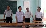 Phó Chủ tịch UBND tỉnh Lê Ánh Dương kiểm tra công tác chuẩn bị thi THPT quốc gia