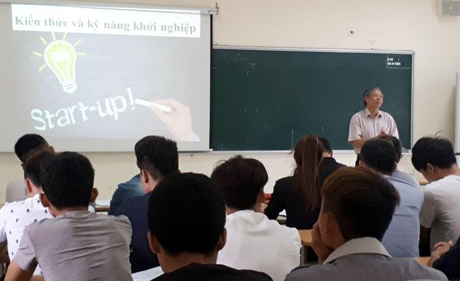 Bồi dưỡng kiến thức khởi sự doanh nghiệp cho sinh viên