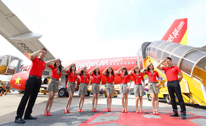 Vietjet to offer 5,000 promotional tickets from USD0 on HCMC-Hongkong route