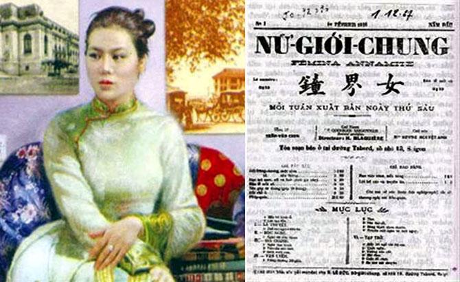 Nữ tổng biên tập,  đầu tiên, Việt Nam