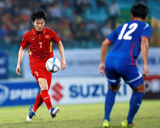 Tự tin,  vươn xa, đội tuyển U16, bóng đá trẻ,  Việt Nam