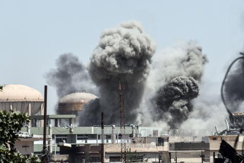Lực lượng an ninh Iraq tiêu diệt 5 phần tử đánh bom liều chết