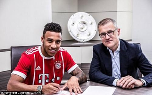 Bayern Munich, kỷ lục, chuyển nhượng, Tolisso