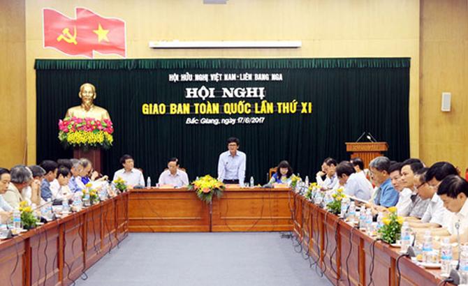 Hội Hữu nghị, Việt Nam,  Liên bang Nga, giao ban, toàn quốc