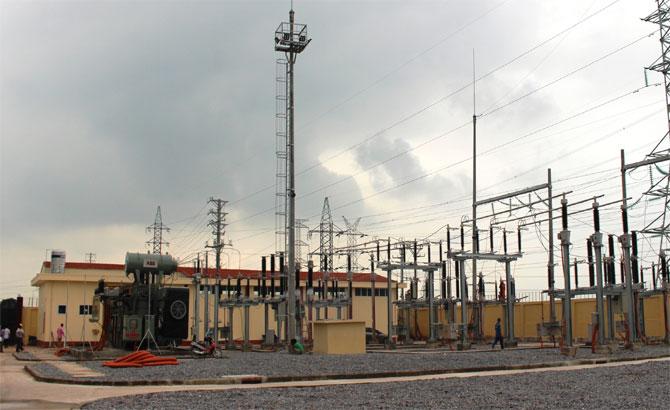 Đóng điện, Trạm biến áp, 110 kV, Quang Châu