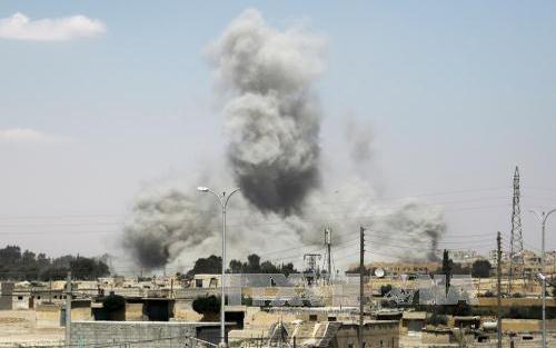 Liên quân, Mỹ, đứng đầu, bắn hạ, máy bay, quân đội, Syria