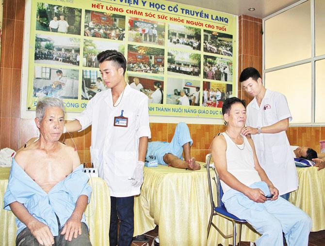 Bệnh viện, Y học cổ truyền, lanQ, dành cho, người cao tuổi