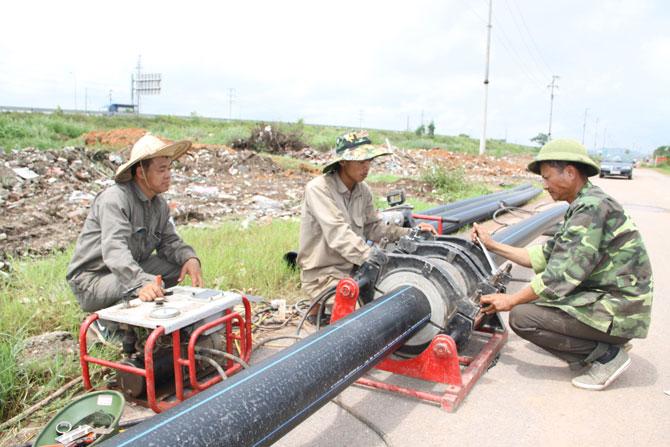 Công ty, cổ phần, nước sạch, Bắc Giang, bảo đảm, cấp nước, mùa nắng nóng