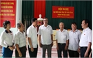 Bí thư Tỉnh ủy Bùi Văn Hải tiếp xúc cử tri TP Bắc Giang