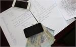 Bắt vụ ghi lô, số đề, thu giữ gần 140 triệu đồng