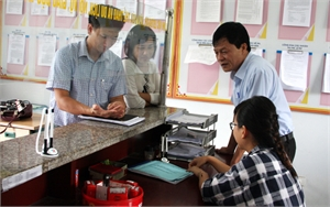 Kiểm tra cải cách hành chính tại huyện Yên Thế